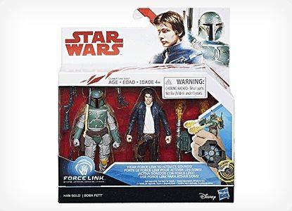 Han Solo & Boba Fett Action Figures