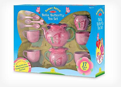 Melissa & Doug Sunny Patch Bella Butterfly Tea Set
