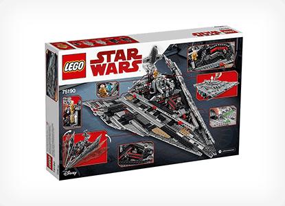 LEGO Star Wars First Order Star Destroyer Building Kit