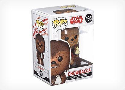 Funko POP! Star Wars: The Last Jedi Chewbacca Figure