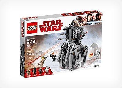 LEGO Star Wars Episode VIII First Order Heavy Scout Walker Kit
