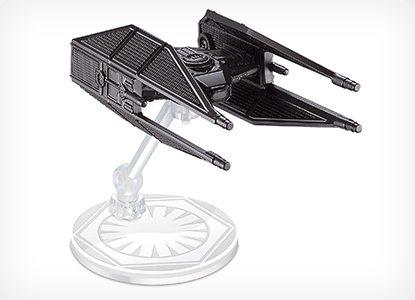 Hot Wheels Star Wars Kylo Ren's Tie Silencer Die-Cast Vehicle