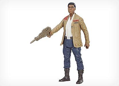 Finn Resistance Fighter Force Link Figure