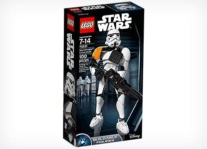 LEGO Star Wars Stormtrooper Commander Building Kit