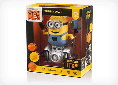 Minion MiP Turbo Dave Fun Balancing Robot Toy