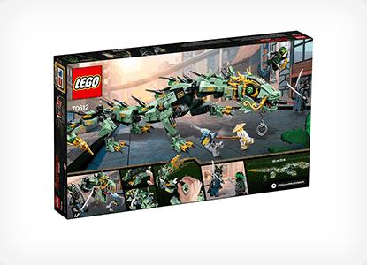 LEGO Ninjago Movie Green Ninja Mech Dragon Building Kit