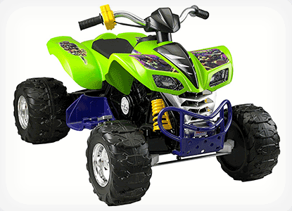 Power Wheels Kawasaki Nickelodeon Teenage Mutant Ninja Turtles