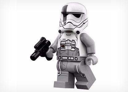 LEGO Star Wars Minifigure First Order Walker Driver