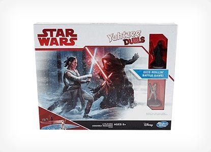 Hasbro Gaming Yahtzee Duels Star Wars Edition Game