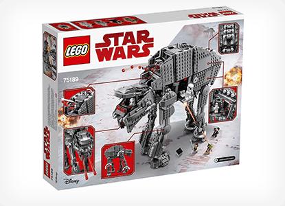 LEGO Star Wars First Order Heavy Assault Walker Building Kit