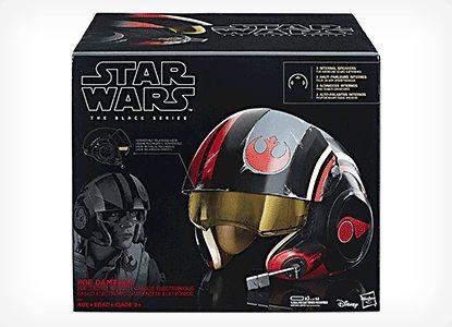Star Wars Poe Dameron Electronic X-Wing Pilot Helmet