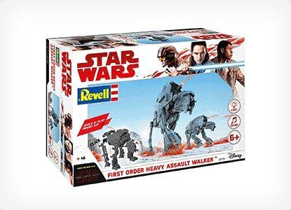 Revell Star Wars Build and Play Assault Walker