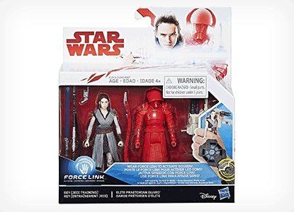 Rey and Elite Praetorian Guard Figures