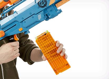 Nerf Zombie Strike ZED Squad Longshot Blaster