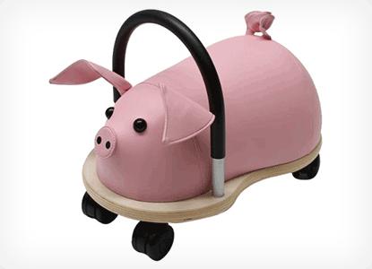 Prince Lionheart Pig Wheely Bug