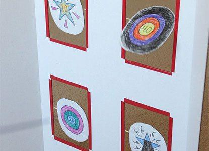 Spinning Nerf Targets Diy Cardboard Toy