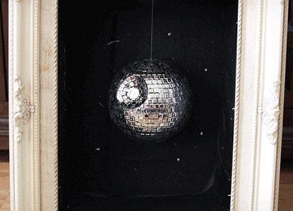 Easy Diy Disco Death Star