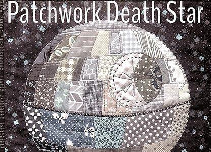 Patchwork Death Star Pattern