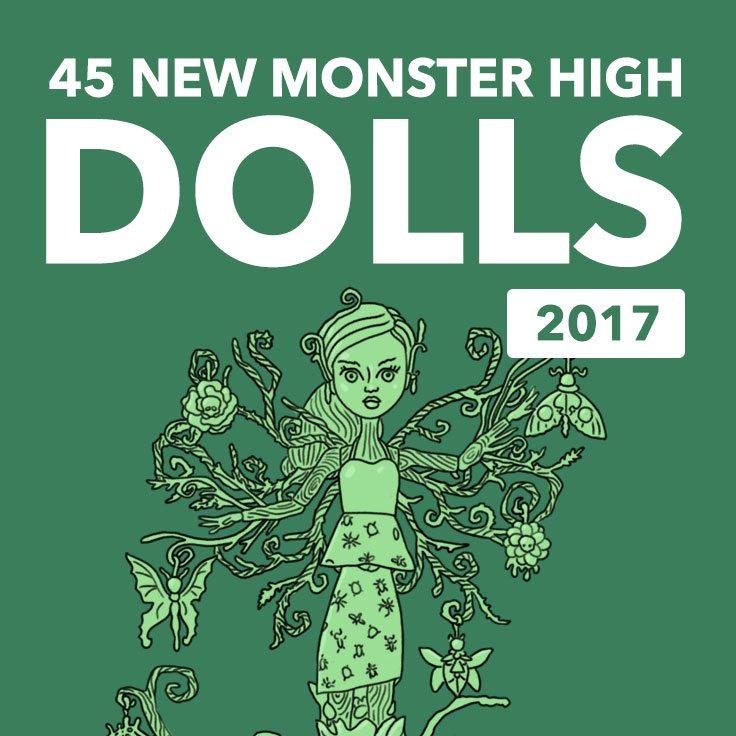 new monster high dolls 2017