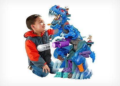 Fisher-Price Imaginext Ultra T-Rex Ice Version