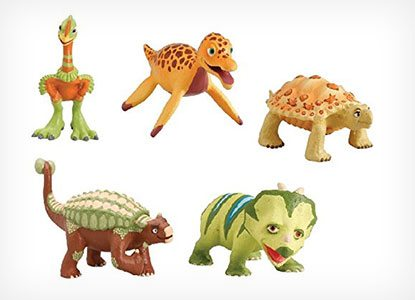 Keenan Paulie Hank Ernie and Pauline Dinosaur Train Figures