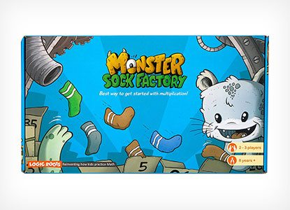 Logic Roots Monster Sock Factory First Step To Multiplication