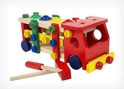 Kennedy Children Wooden Assemble Disassembly Car