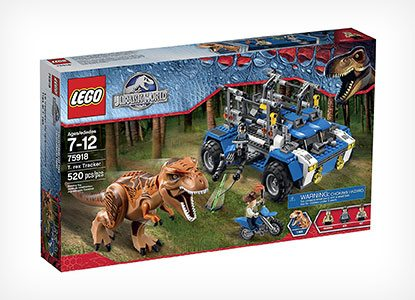 LEGO Jurassic World T. Rex Tracker Building Kit