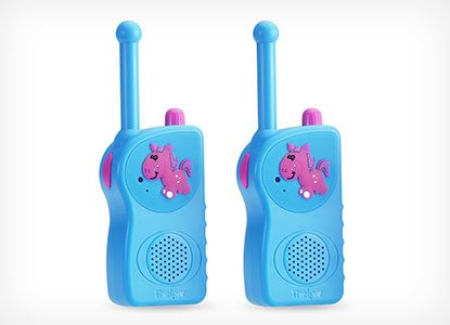 Theipar 3 Mile Range Rechargeable Kids Walkie Talkies