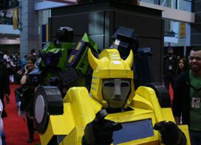How to Make a Transformers Bumblebee Costume