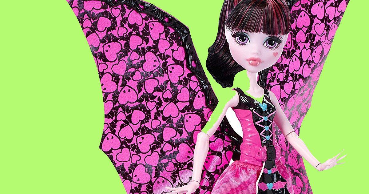 monster high draculara dolls