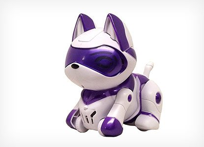 Tekno Babies Kitty Whiskers Robot Pet
