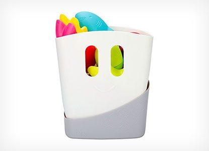 Ubbi Freestanding Bath Toy Organizer Bath Caddy