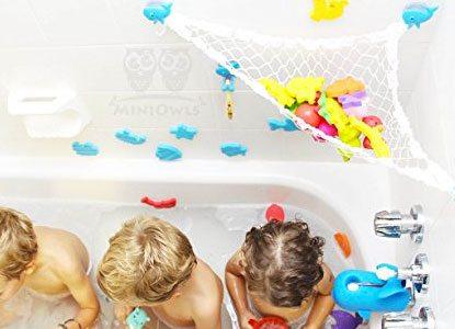 MiniOwls Bathtub Toy Storage Hammock