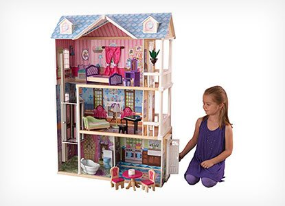 KidKraft My Dreamy Dollhouse with Furniture