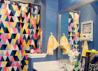 How To Make Your Own Diy Shower Curtain