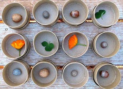 Diy Nature Memory Game