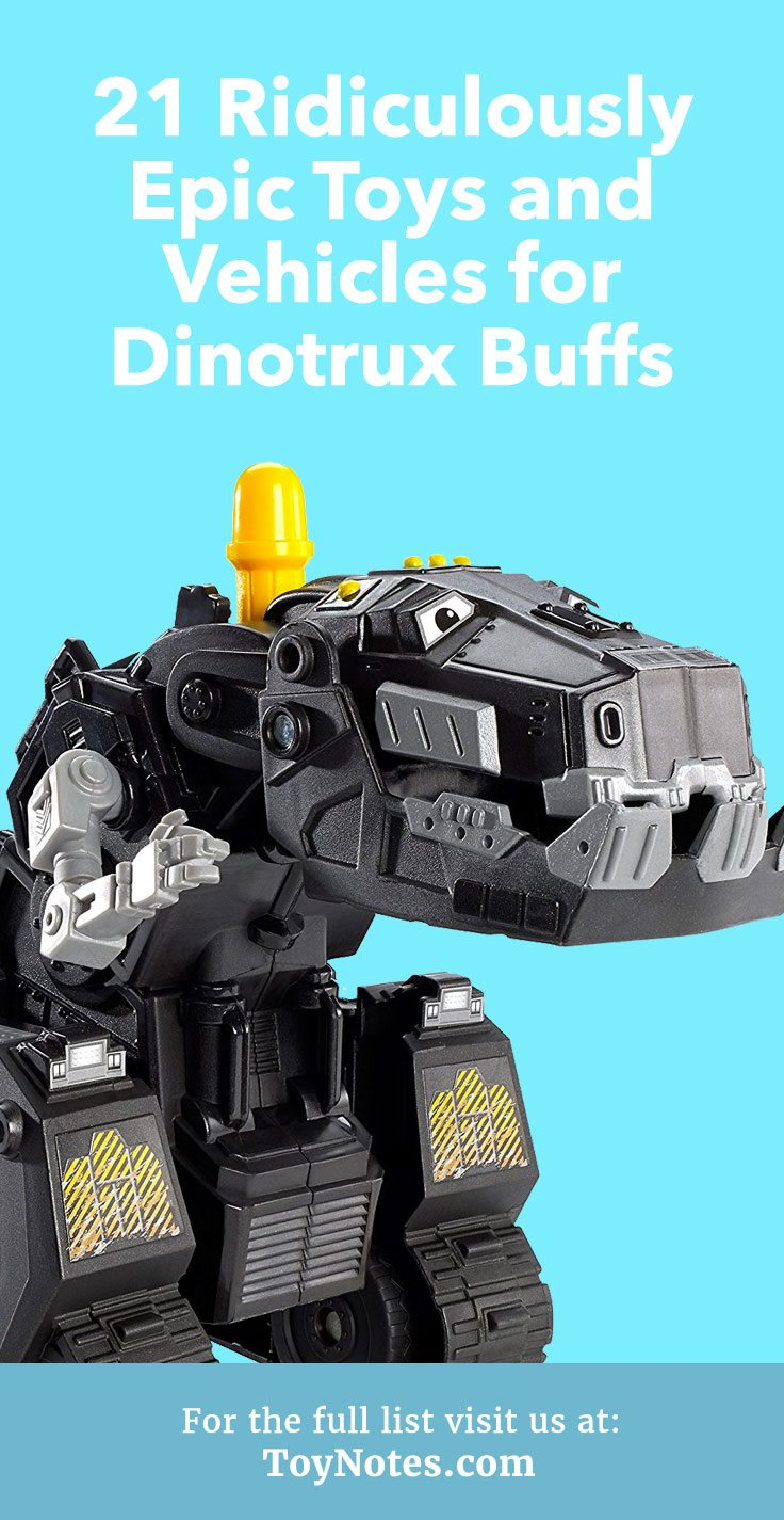 Check this large selection of Dinotrux action figures to begin your kids' collection of Dinotrux toys.