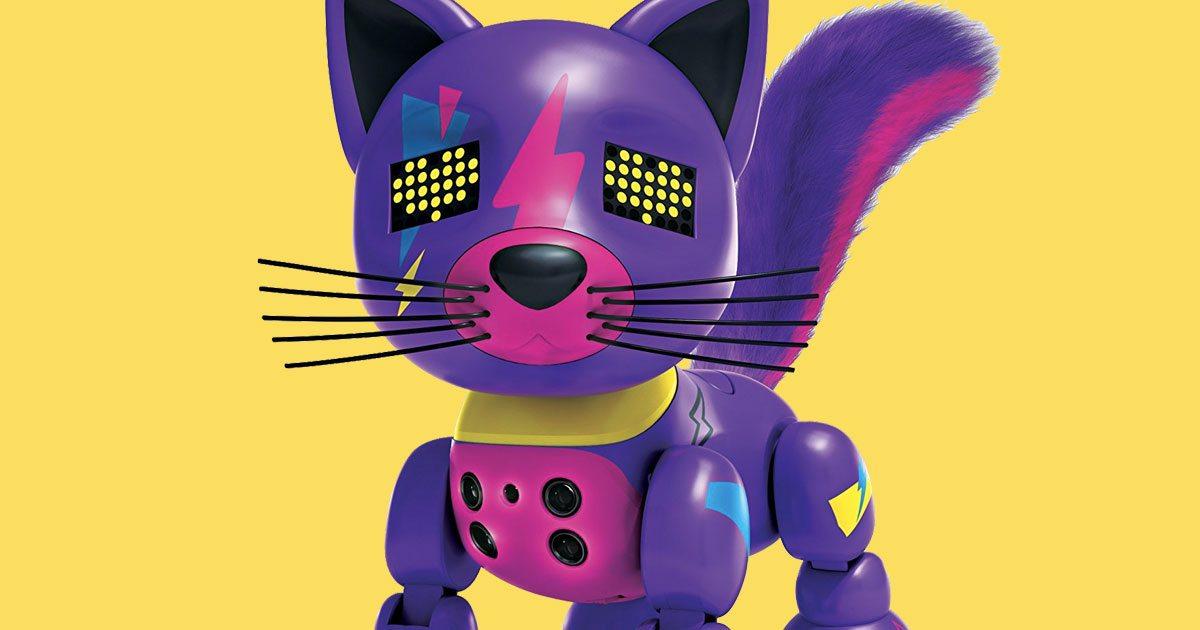 robot cat toys