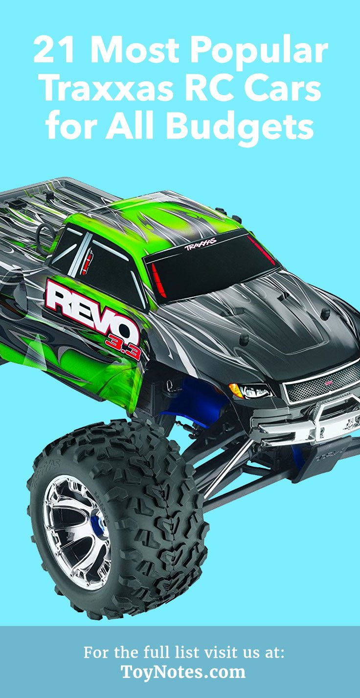 21 Most Popular Traxxas Rc Cars For All Budgets Toy Notes