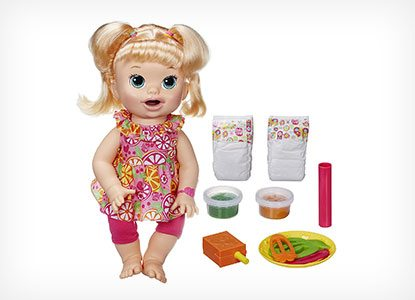 31 Most Popular Blonde Baby Alive Dolls Snackin Sara And