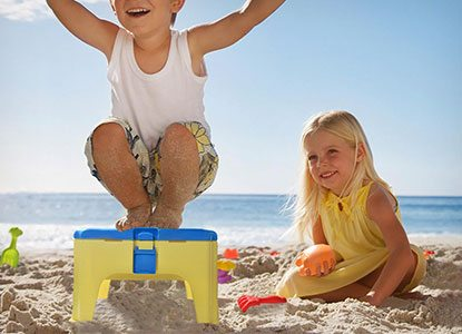 Beach Sand Toy with Chair Box