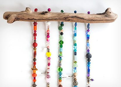 Beaded Wind Chime Tutorial