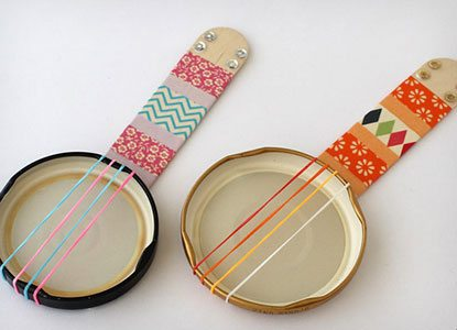 Diy Mini Lid Banjos