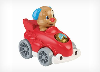 Fisher-Price Laugh & Learn Smart Puppy Speedsters