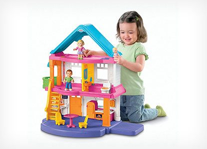 Fisher-Price Loving Family My First Dollhouse