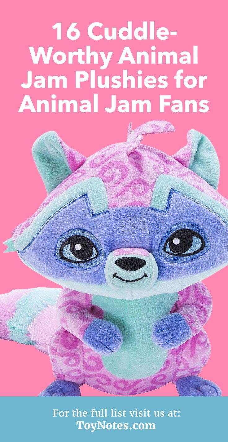 16 Cuddle-Worthy Animal Jam Plushies for Animal Jam Fans