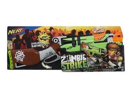 Nerf Zombie Strike Zed Squad Slingfire Blaster