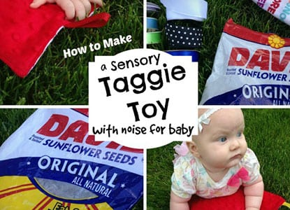 Diy Taggie Sensory Toy