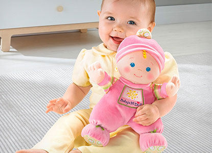 Fisher-Price Brilliant Basics Baby's First Doll